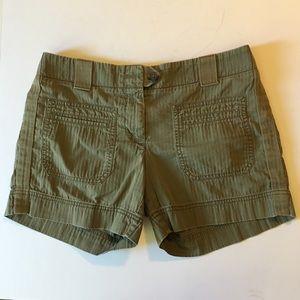 J. Crew Factory Weathered Green Chino Shorts 4